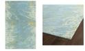 "Kaleen Brushstrokes BRS01-17 Blue 3'6"" x 5'6"" Area Rug"