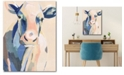 """Courtside Market Hertford Holstein I 16"""" x 20"""" Gallery-Wrapped Canvas Wall Art"""