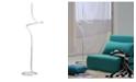NOVA of California NOVA Lighting Shimmy Loop Accent Floor Lamp