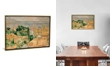 """iCanvas View of L'Estaque by Paul Cezanne Gallery-Wrapped Canvas Print - 18"""" x 26"""" x 0.75"""""""