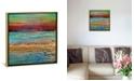 "iCanvas Coastal I by Alicia Dunn Gallery-Wrapped Canvas Print - 18"" x 18"" x 0.75"""