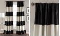 """Lush Decor Montego Stripe 52"""" x 84"""" Curtain Set"""