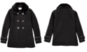 Michael Kors Big Girls Faux-Fur-Collar Dress Coat