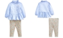 Polo Ralph Lauren Baby Girls Shirt & Leggings