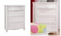Coaster Home Furnishings Caroline 4-Drawer Chest
