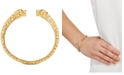 EFFY Collection Effy Oro by EFFY® Panther Cuff Bracelet in 14k Gold