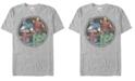 Marvel Men's Comic Collection Classic Avengers Group Shot Short Sleeve T-Shirt