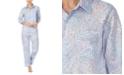 Lauren Ralph Lauren Floral-Print Cotton Pajama Set