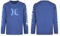 Hurley Toddler Boys Long Sleeve Logo-Print T-Shirt