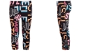 Ideology Big Girls Printed Caged Capri Leggings, Created for Macy's
