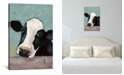 "iCanvas Holstein Cow Iii by Jade Reynolds Wrapped Canvas Print - 40"" x 26"""