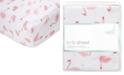 aden by aden + anais Baby Girls Briar Rose Printed Cotton Crib Sheet