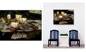 """West of the Wind Evening Pond Indoor/Outdoor Art, 40"""" x 30"""""""