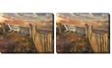 """West of the Wind Front Row Seats Indoor/Outdoor Art, 40"""" x 30"""""""