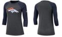 Nike Women's Denver Broncos Logo Three-Quarter Sleeve T-Shirt