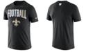 Nike Men's New Orleans Saints Dri-Fit Cotton Football All T-Shirt