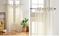 Elrene Vienna Tie-Top Sheer Window Curtain
