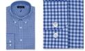 Nautica Men's Classic/Regular-Fit Comfort Stretch Wrinkle-Free Check Dress Shirt