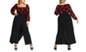 City Chic Trendy Plus Size Wrap Palazzo Pants