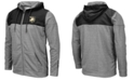 Colosseum Men's Army Black Knights Nelson Full-Zip Hooded Sweatshirt