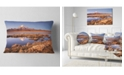 """Design Art Designart Sajama National Park Bolivia Landscape Printed Throw Pillow - 12"""" X 20"""""""