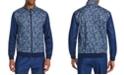 Tallia Men's Slim-Fit Stretch Paisley Track Jacket