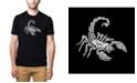LA Pop Art Men's Premium Word Art T-Shirt - Types of  Scorpions