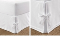 Laura Ashley Tailored King Bedskirt with Corner Ties