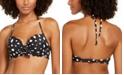 SUNDAZED Ava Bra Sized Ruffle Underwire Bikini Top, Created for Macy's