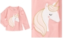 First Impressions Baby Girls Unicorn Cotton T-Shirt, Created For Macy's
