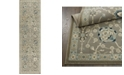 "Shabby Chic Chandler Aster Gray 2'2"" x 7'6"" Runner Area Rug"
