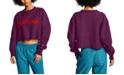 Champion Women's Vintage Wash Cropped Sweatshirt