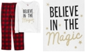 Carter's Little & Big Girls 2-Pc. Believe In The Magic Pajamas Set
