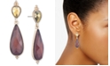lonna & lilly Gold-Tone Stone Double Drop Earrings
