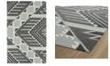 """Kaleen Lakota LKT04-75 Gray 5' x 7'9"""" Area Rug"""