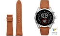 Michael Kors Access Bradshaw 2 Luggage Leather Smart Watch Strap