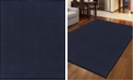 "KM Home CLOSEOUT! 782/1311/NAVY Pesaro Blue 5'5"" x 7'7"" Area Rug"