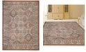"""KM Home CLOSEOUT! 3802/0021/TERRACOTTA Gerola Red 5'3"""" x 7'3"""" Area Rug"""