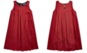 Polo Ralph Lauren Big Girls Checked Pleated Shift Dress, Created For Macy's