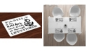 Ambesonne Family Place Mats, Set of 4
