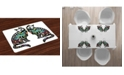 Ambesonne Day of the Dead Place Mats, Set of 4