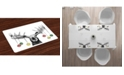 Ambesonne Moose Place Mats, Set of 4