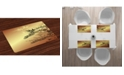 Ambesonne Japanese Place Mats, Set of 4