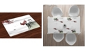 Ambesonne Asian Place Mats, Set of 4