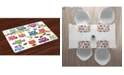 Ambesonne Owls Place Mats, Set of 4
