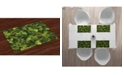 Ambesonne Sage Place Mats, Set of 4