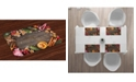 Ambesonne Gingerbread Man Place Mats, Set of 4