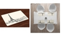 Ambesonne City Love Place Mats, Set of 4