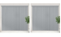 """Chicology Vertical Blinds, Patio Door or Large Window Shade, 78"""" W x 84"""" H"""