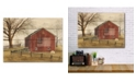 "Courtside Market Flag Barn 16"" x 20"" Wood Pallet Wall Art"